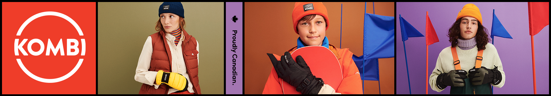 Shop Kombi Winter Jackets, Pants, Outerwear, and Kids Winter Toques at your local Source For Sports winter clothing store
